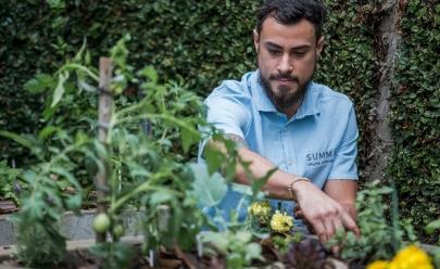 Oficina gratuita ensina a fazer horta em casa neste sábado (15)