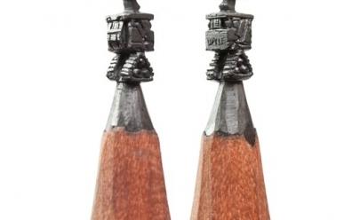 Conheça as impressionantes obras de arte feitas na ponta de lápis