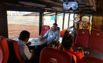 Empresário lança Bus Beer durante evento em Aparecida de Goiânia