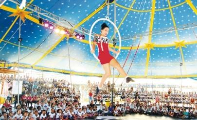 Domingo no Circo terá edição de férias com diversão para toda a família em Goiânia