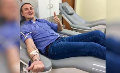 Maior doador de sangue de Goiânia recebe honraria por mérito