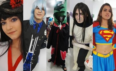 Confira os mais criativos cosplays do evento POP realizado ontem em Goiânia