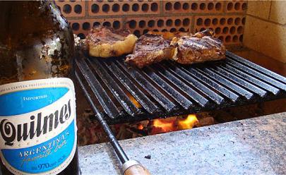 'El Argentino Restaurante e Empório' em Goiânia inclui a cerveja argentina Quilmes em seu cardápio