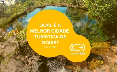 Qual a melhor cidade turística de Goiás ?