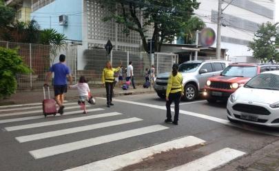 Goiânia recebe programa de conscientização no trânsito em 'volta às aulas'