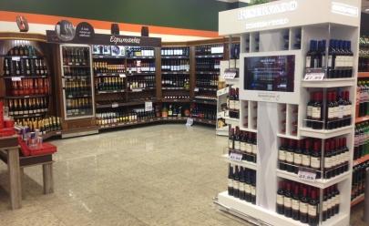 Supermercado em Goiânia inova com sommelier virtual que indica o vinho perfeito para cada ocasião