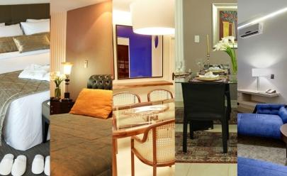 Conheça o interior de 6 suítes presidenciais dos hoteis estrelados de Goiânia