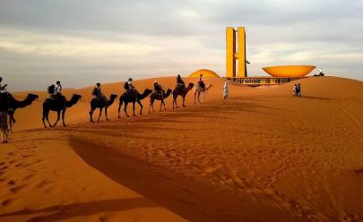 É oficial: temperatura em Brasília supera a do Deserto do Saara