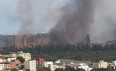Explosão na siderúrgica Usiminas em Ipatinga
