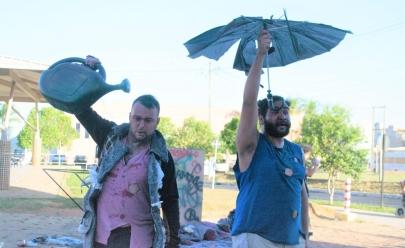 Teatro na Rua: grupo realiza apresentações pós-apocalípticas gratuitas em Goiânia