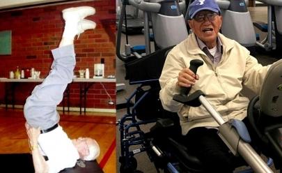 Conheça o Vovô de 111 anos que pratica Yoga e tem saúde invejável
