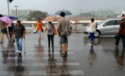 Previsão do tempo tem dias nublados e chuvosos no Distrito Federal