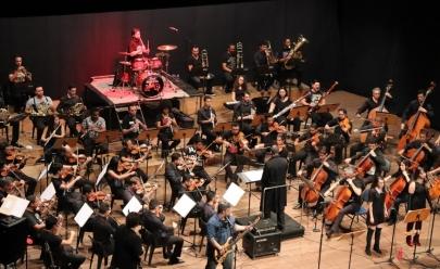 Orquestra Sinfônica de Goiânia toca Clássicos do Rock  no CCON