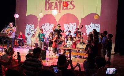 Espetáculo Beatles para Crianças acontece neste final de semana em Brasília