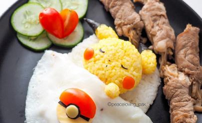 Personagens de Pokémon são transformados em pratos super fofos