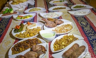 Tradicional Restaurante Árabe é um dos mais antigos e respeitados em Goiânia