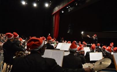 Orquestra Sinfônica de Goiânia faz 'A Magia do Natal' com 200 músicos no palco e ingressos a R$ 5