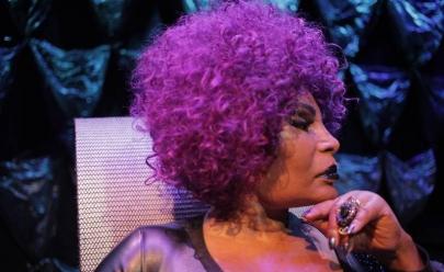 Elza Soares faz show 'A Mulher do Fim do Mundo' em Goiânia