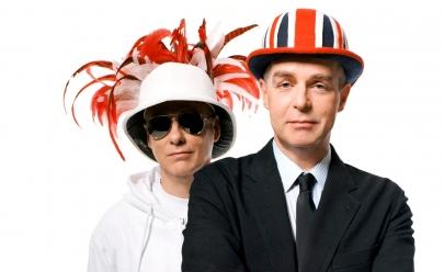 Pet Shop Boys faz show no Espaço das Américas em São Paulo