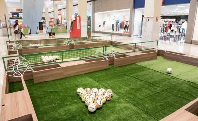 FootPool é uma junção de sinuca e futebol instalado em Brasília