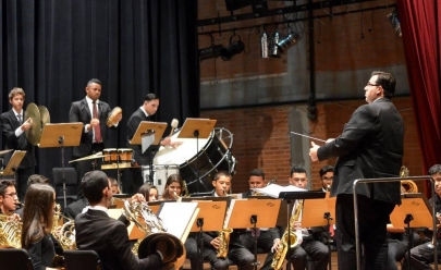 Banda Sinfônica faz concerto hoje em Goiânia