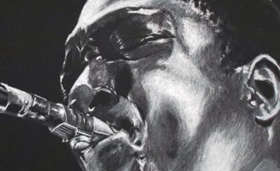 Lendas do jazz e do blues são retratadas em exposição em Brasília