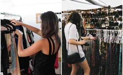 Brechó com roupas importadas a partir de R$ 29 neste sábado