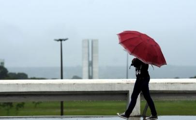 Chuva já tem previsão de chegada em Brasília