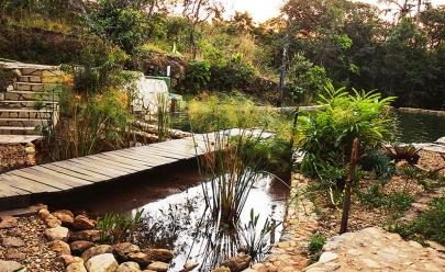 Cachoeira do Girassol: um recanto com trilhas, nascentes e piscinas naturais em Goiás