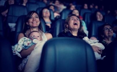 Shopping de Brasília promove sessão de cinema para mamães e seus bebês