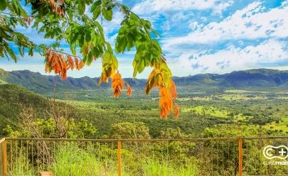 Mirante da Nova Aurora é parada obrigatória para quem visita Cavalcante, na Chapada dos Veadeiros