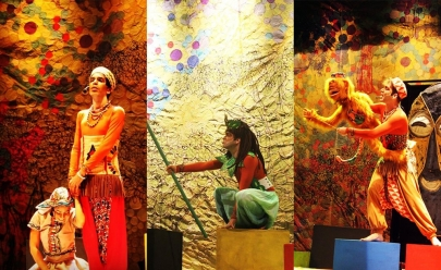 Espetáculo gratuito sobre mitologia africana é apresentado em Goiânia