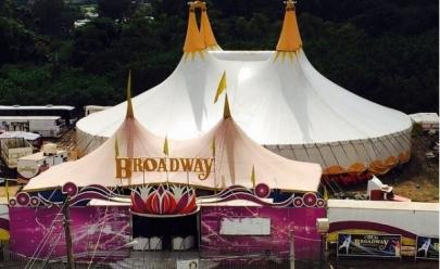 Circo Broadway volta à Goiânia para temporada de fim de ano