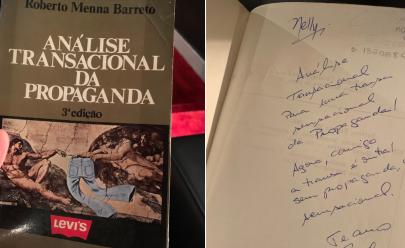 A dedicatória 'caliente' neste livro encontrado pelo Felipe Neto vai deixar várias fanfics na sua mente