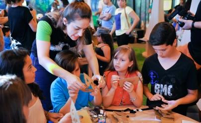 Oficina infantil gratuita de robótica e programação acontece em Goiânia