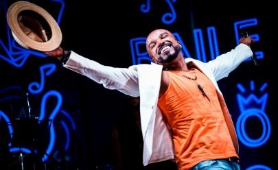 Alexandre Pires faz show em Brasília