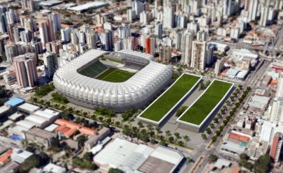 Goiânia pode ganhar mega complexo de esporte e lazer com a nova arena do Goiás Esporte Clube