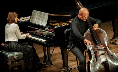 Sesc Goiás e UFG apresentam Concertos na Cidade com contrabaixista uruguaio e pianista brasileira