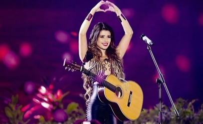Paula Fernandes faz show no Rio de Janeiro nesta quinta-feira