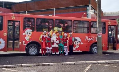Ônibus do Papai Noel oferece passeios gratuitos e recheados de atrações em Uberlândia