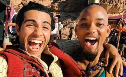 'Aladdin acaba de se tornar o maior filme da minha carreira' diz Will Smith agradecendo em 15 idiomas diferentes, em vídeo