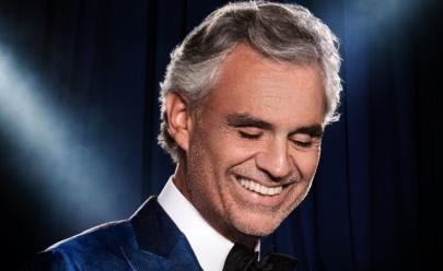 Andrea Bocelli confirma show pela primeira vez em Brasília