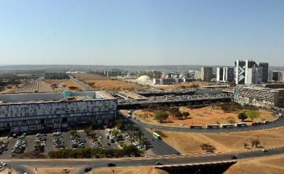 Massa de ar seco faz umidade no DF chegar aos 8%