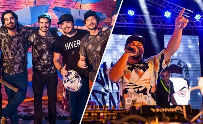 Atitude 67 e DJ Mário fazem show no Deu Praia 2018 em Goiânia