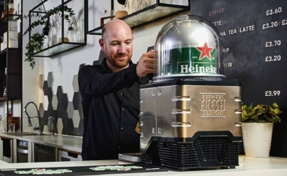 Heineken lança máquina de cerveja em cápsula estilo Nespresso