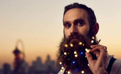 Empresa vende luzinhas de Natal para barbas e faz sucesso