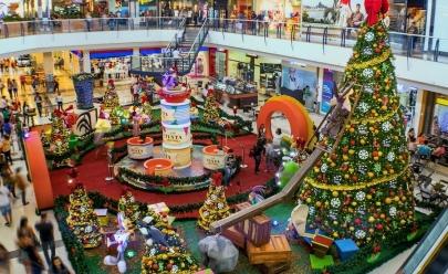 Buriti Shopping inaugura decoração de natal com Looney Tunes