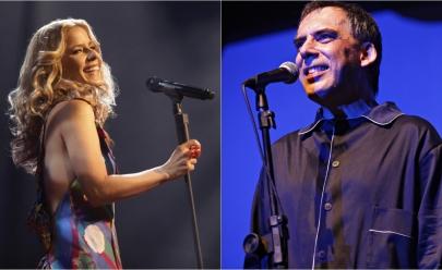 Arnaldo Antunes e Paula Toller se apresentam em Goiânia