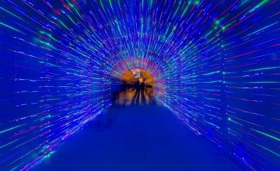 Túnel em Brasília se transforma para receber baladas durante o mês de Setembro