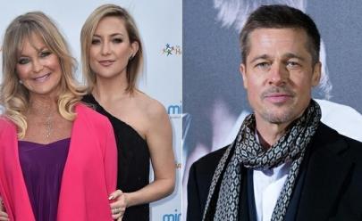 Brad Pitt e Kate Hudson estão namorando, diz mãe da atriz para revista 'Star'